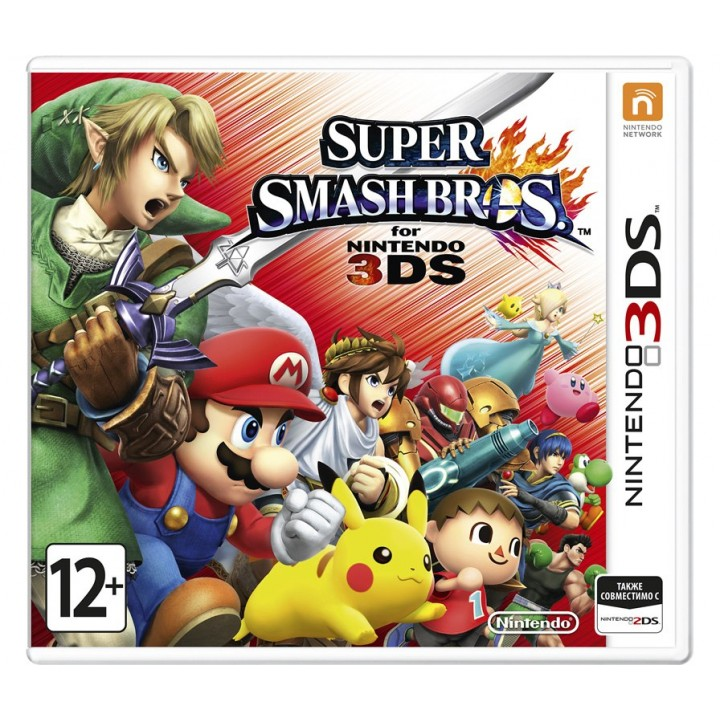 Игра для Nintendo 3DS Super Smash Bros.
