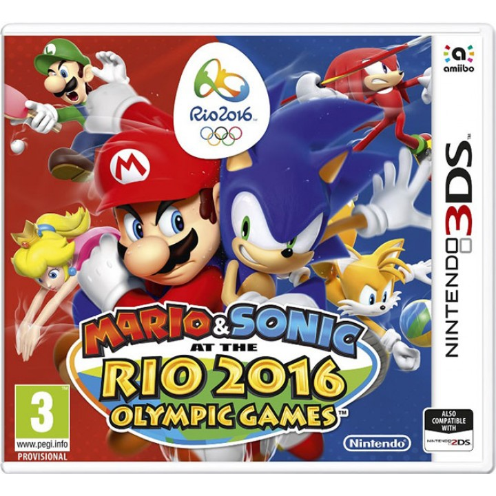Игра для Nintendo 3DS Mario & Sonic at the Rio 2016 Olympic Games