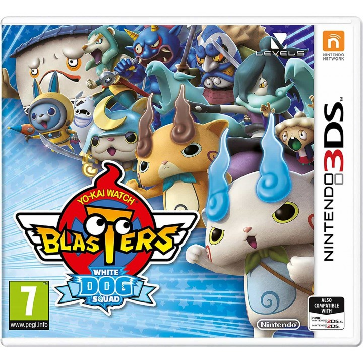 Игра для Nintendo 3DS Yo-kai Watch Blasters: White Dog Squad