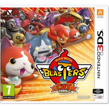 Yo-kai Watch Blasters: Red Cat Corps (Nintendo 3DS)