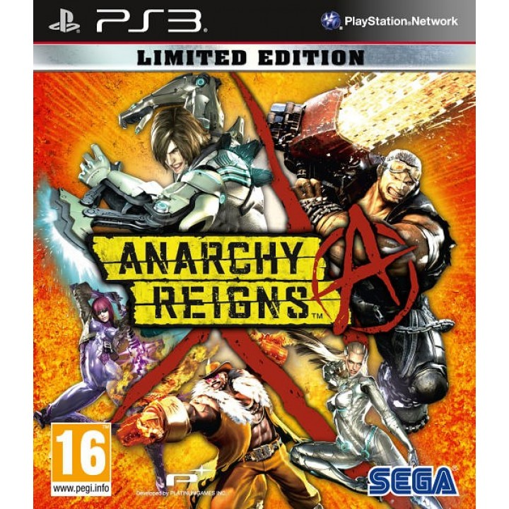 Игра для Playstation 3 Anarchy Reigns. Limited Edition