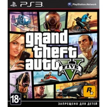 Grand Theft Auto V [GTA 5] (Playstation 3)