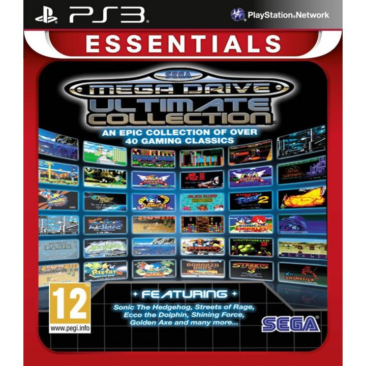 Игра для Playstation 3 Sega Mega Drive Ultimate Collection