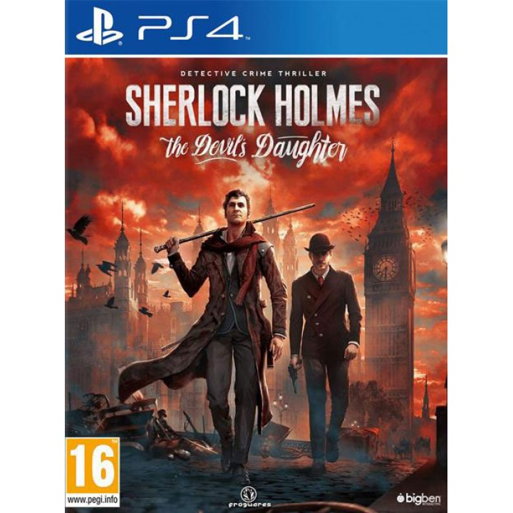 Игра для Playstation 4  Sherlock Holmes: The Devil's Daughter