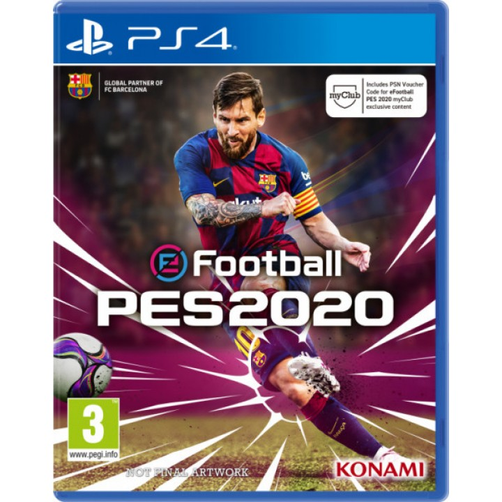 Игра для Playstation 4 Pro Evolution Soccer 2020 [PES 2020]