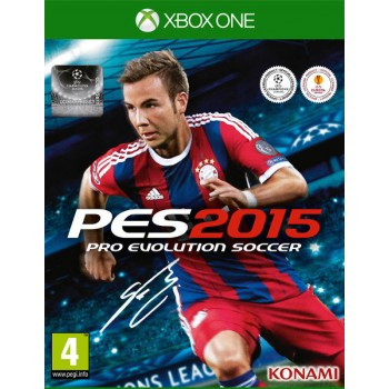 Pro Evolution Soccer 2015 [PES 2015] (XBOX ONE)