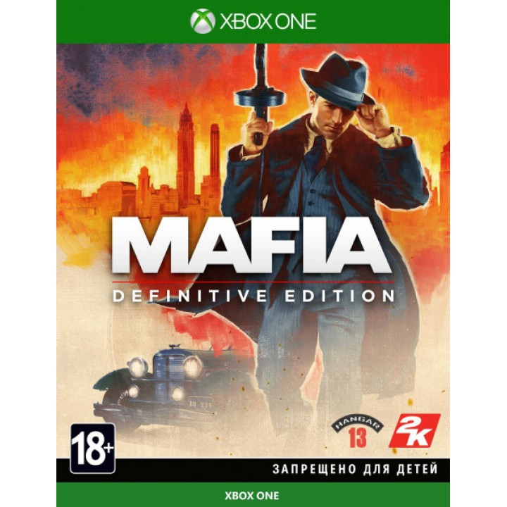 Игра для XBOX ONE Mafia: Definitive Edition