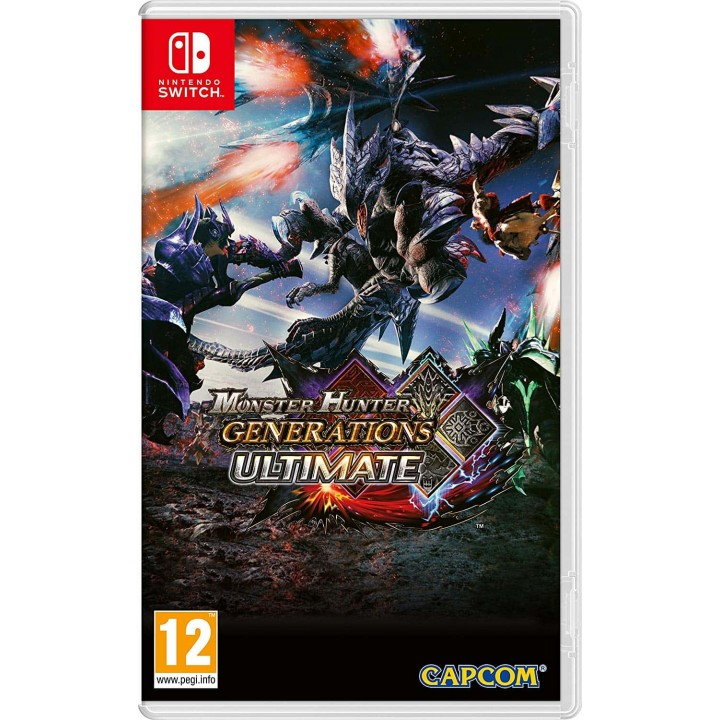 Игра для Nintendo Switch Monster Hunter Generations Ultimate