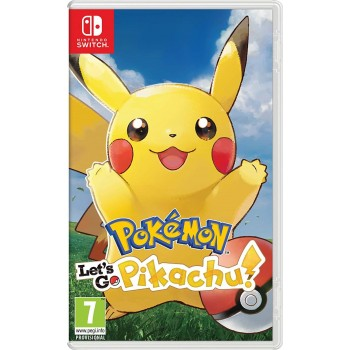Pokemon Let's Go: Pikachu (Nintendo Switch)